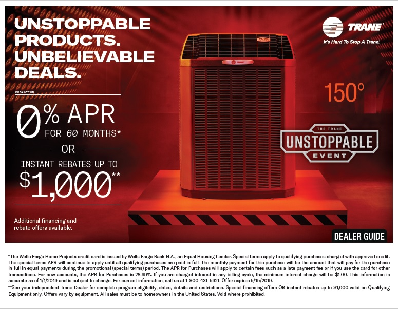 Trane Unstoppable Event 2019