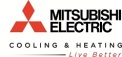 Mitsubishi Electric, Heating and Cooling Logo